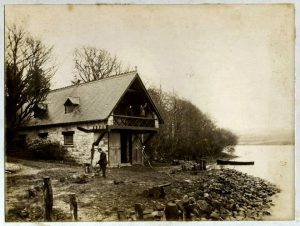 Boathouse looking South O Connors 1890