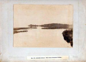View from Ballintra bridge 1890